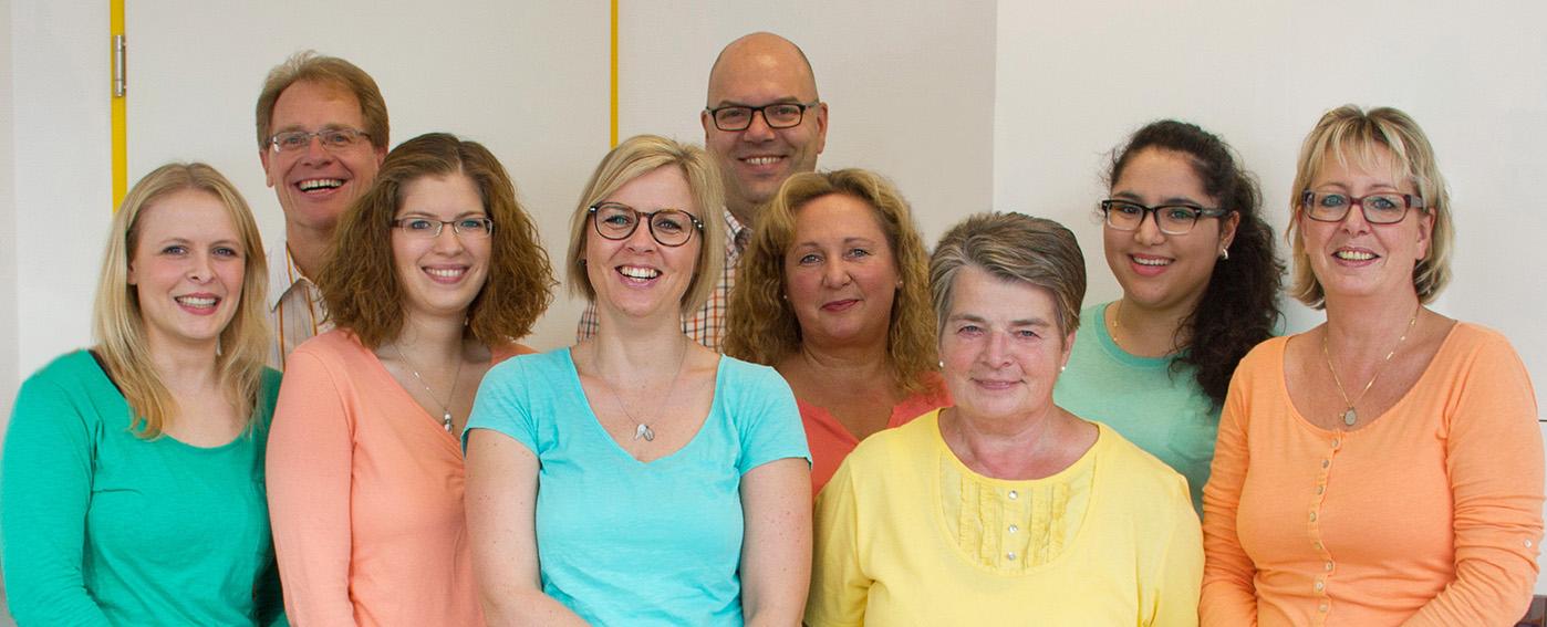 Das Team der Hausarztpraxis Overath